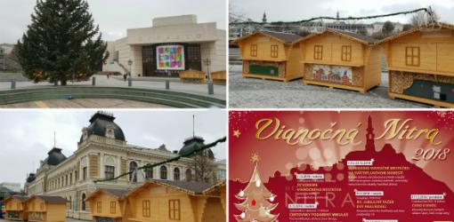 76349a9a2 Vianočné mestečko Nitra: informácie, podrobný program a fotografie